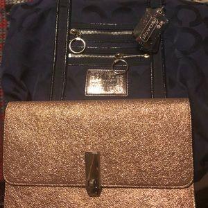 Coach purse & Express hand bag
